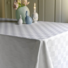 Table cloth Tradition white also available grey
