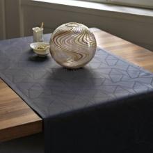 Table runner Arne Jacobsen black also available blue, beige/black
