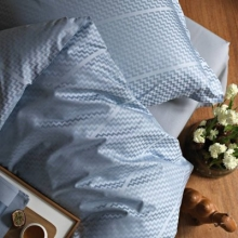 Bed linen TRIPP Ocean-blue