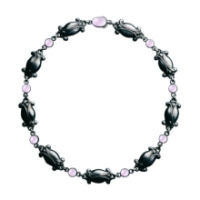 Necklace designed by Georg Jensen also available with silver stone