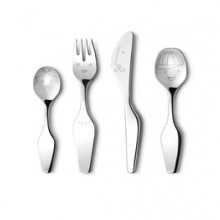 The Twist family cutlery 4pcs