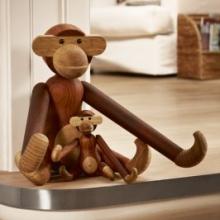 KAY BOJESEN Wooden Monkey Mini, S, M & L