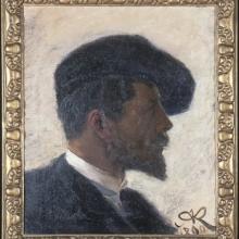 Arnold Krog portrait