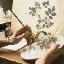 Flora Danica Hand painting