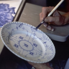 Full Lace Hand painting underglaze