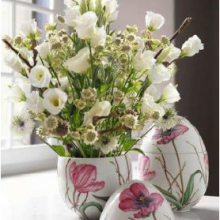 Easter egg Bonbonniere XL pink Tulip