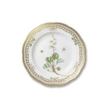 Flora Danica Plate with lace 1141637 003