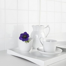 White Fluted new Jug €33,- to 79,-