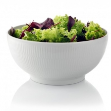 white Fluted Salad bowl€15,- to €100,-